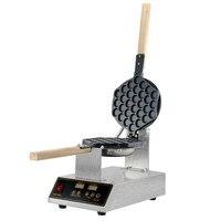 Commercial Digital Electric Chinese Eggettes Waffle Maker Puff Iron Hong Kong Egg Bubble Baking Machine Cake Oven 110V 220V