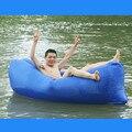 Un 250*72 CM Sofá Inflable Sofá Cama Para Adultos Saco de dormir de Aire Plegable Portátil de Recreación Al Aire Libre Tumbona