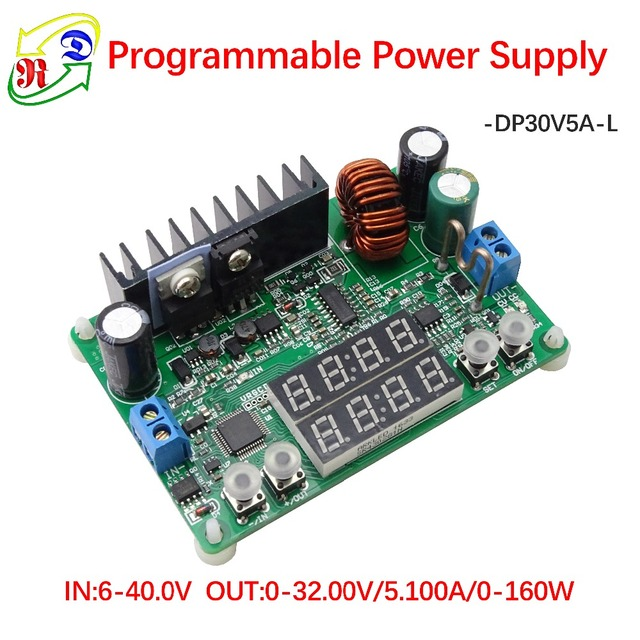 RD DP30V5A-L Constant Voltage current Step-down Programmable Power Supply module buck Voltage converter regulator LED display