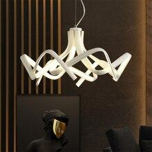 Modern Led Chandelire Kitchen Fixtures Dining Bar Shadow Dance LED Pendant Lamp Bedroom Dining Room Decor Hanging Lamp Luminaire