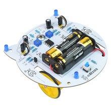 Mini Cat DIY Smart RC Robot Car Tracking STEAM Educational Learning Kit Programmable Toys Robot Kit For Children Kids Toys Gifts