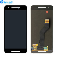 Netcosy Full LCD Screen For Huawei Google Nexus 6 Plus LCD Display + Touch Screen Digitizer Assembly Replacement Repair Parts