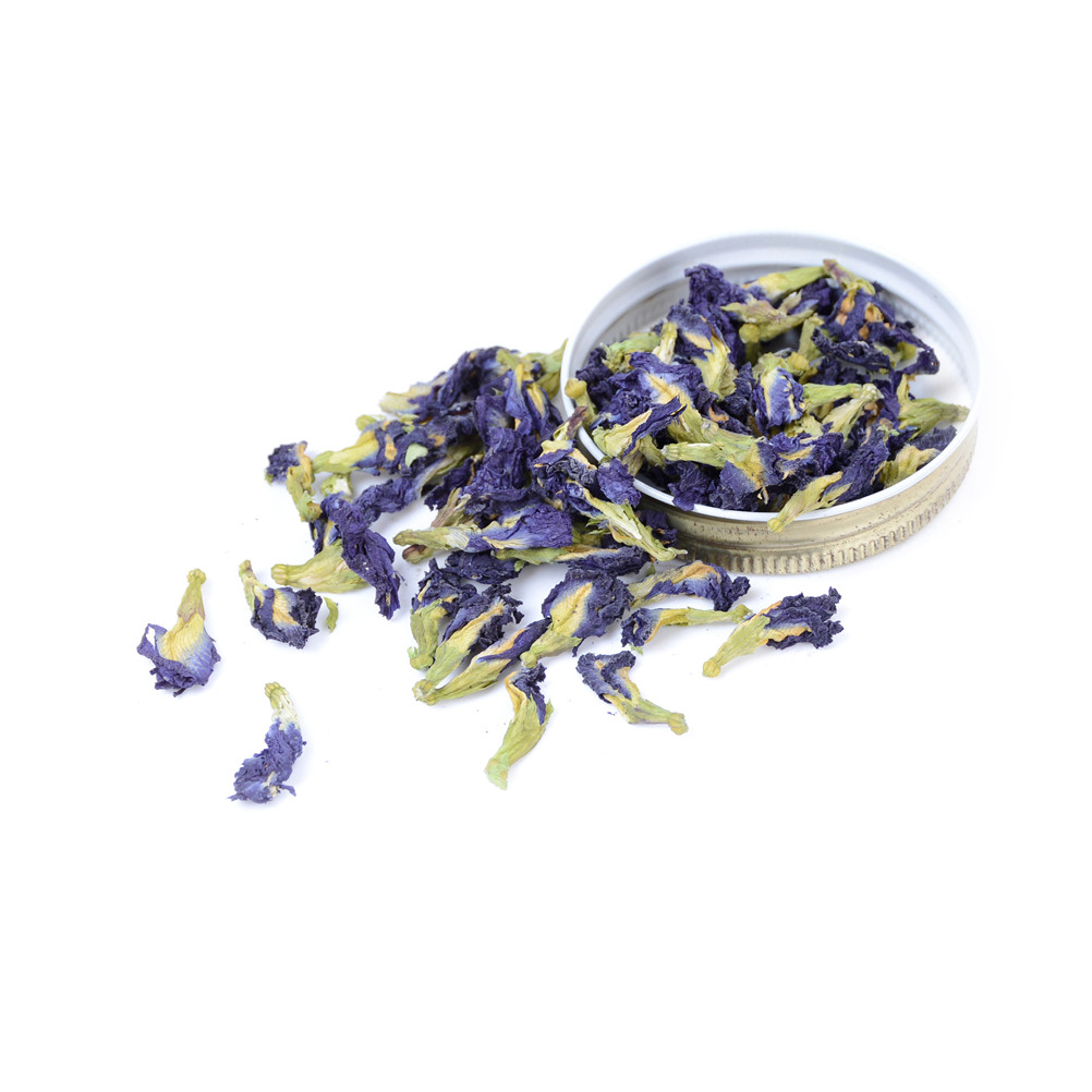 100g/pack Clitoria Ternatea Tea. High Quality Blue Butterfly Pea Tea.Dried Clitoria Kordofan Pea Flower.Thailand.