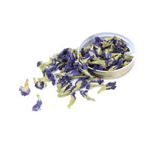 100g/pack Clitoria Ternatea Tea. High Quality Blue Butterfly Pea tea.Dried Clitoria kordofan pea flower.Thailand.(China)