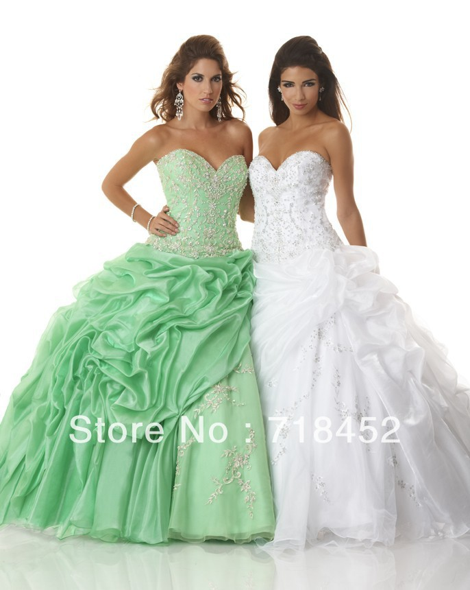 Popular Light Green Quinceanera Dresses-Buy Cheap Light Green ...