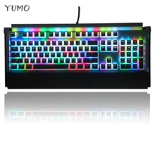 купить Backlit Mechanical Keyboard Translucent Keycap Thick PBT OEM Profile 108Key Double-Skin Gaming Keyboard Keycap For MX Switches онлайн