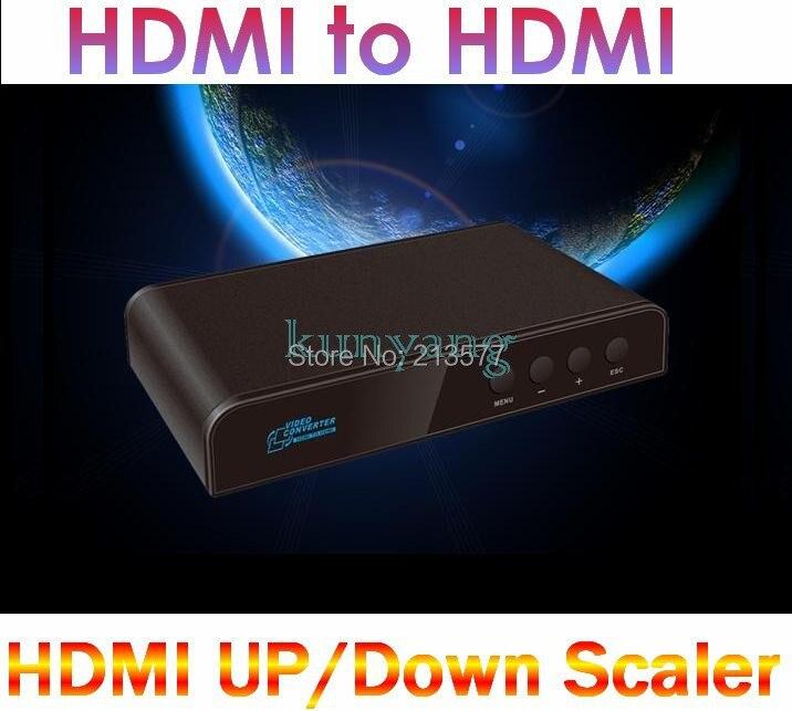 LKV323 HDMI to HDMI Converter HDMI Mirror UP Down mirror around flip Scaler Audio Separation Mixing