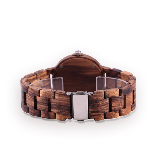 GNART Wooden Watches relojes para mujer Women 2018 Wood Watch Fitness Watch for Ladies Brown Relogio Feminino                    3