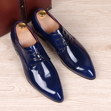 Spring Autumn Men Oxfords Shoes Pointed Toe Fashion Business Red Bottom Casual Shoes Smooth Leather Brogue Shoes Male Flats стоимость