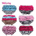 Cotton Shorts Baby Girls Bloomers Ruffled Panties Baby Girls Short And Headband Set Diapers Kids Flower Babies Bloomers P103