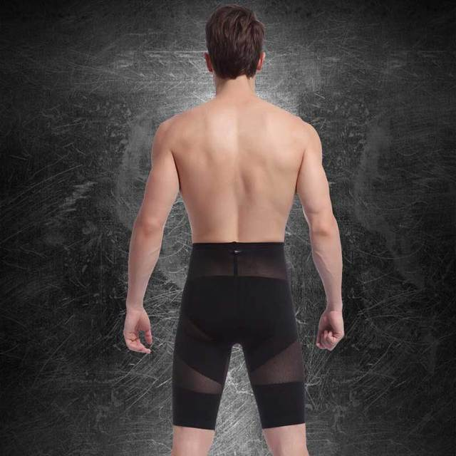 Hot Men High Waist Slimming Abdomen Girdle Control Panties Seamless Tummy Trimmer Shaper Lift Butt Lose Weight Underwear NY025 4