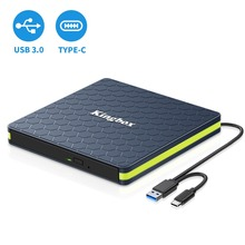 3.0 CD-RW/DVD-RW SATA External SliM USB Chip Optical Drive C