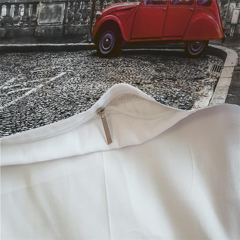 Image 5 - LOVINSUNSHINE Bed Linen Set Queen Comforter Sets City View 3d Digital Printing Parrure De Lit AB#65Bedding Sets   -