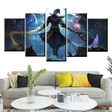 Hot Sales Without Frame 5 Panels Picture LOL League of Shieda Kayn Print Artwork Wall Art Canvas Painting Wholesale