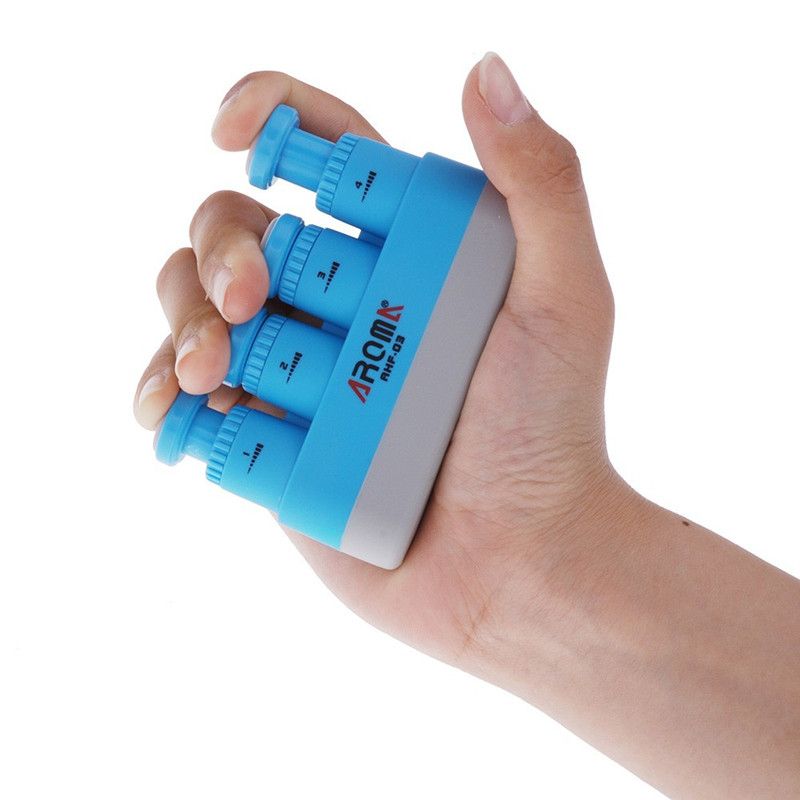 AHF-03 Multi-Function Finger Exerciser Hand Strengthener Trainer for Musicians Athletes and Physical Therapy New Brand New Style