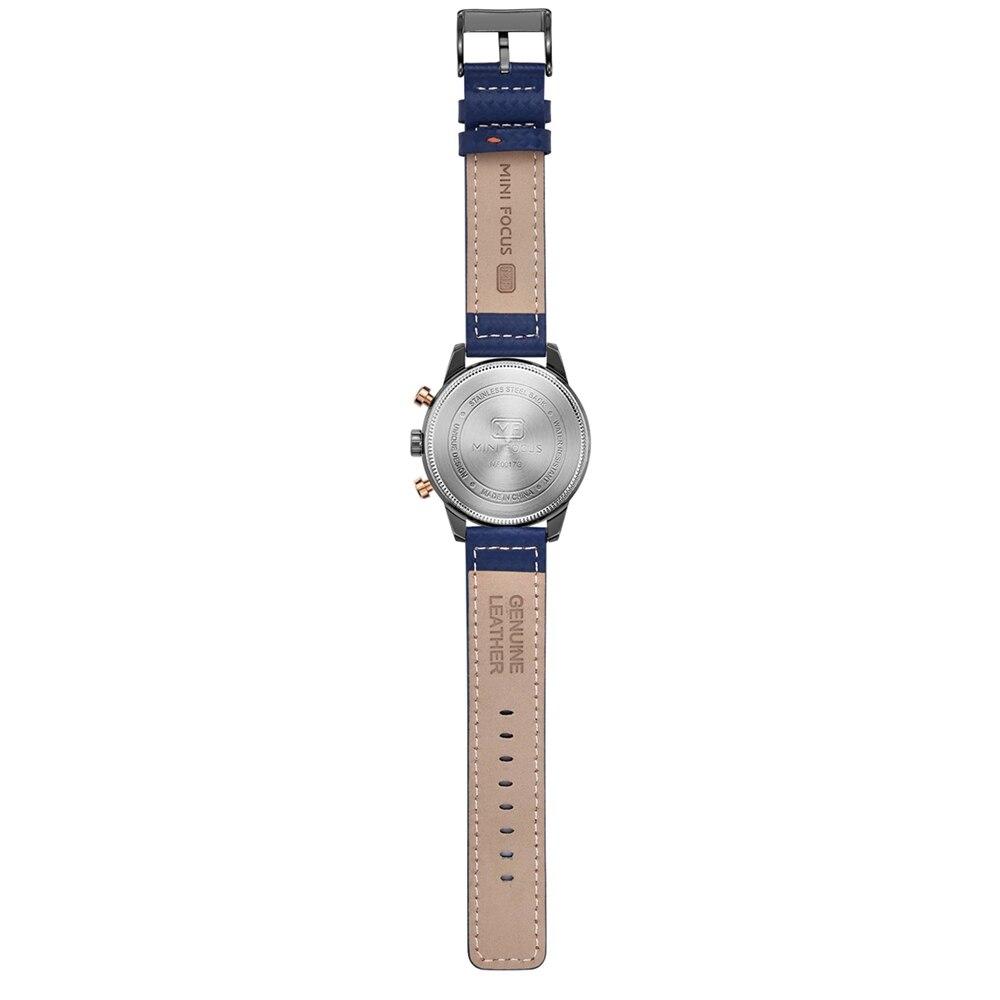 Watches Men 2019 Luxury Brand MINI FOCUS Quartz Fashion Leather Watch Man Chronograph Male Wristwatch Men relogio masculino 2018 (2)