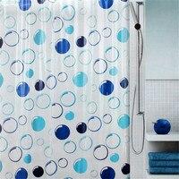 WINLIFE PVC Shower Curtains for Bathroom Transparent Bath Curtain Waterproof