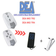 1pcs FOR DEA Garage door remote control Replace Rolling code Fixed code 433.92Mhz(China)