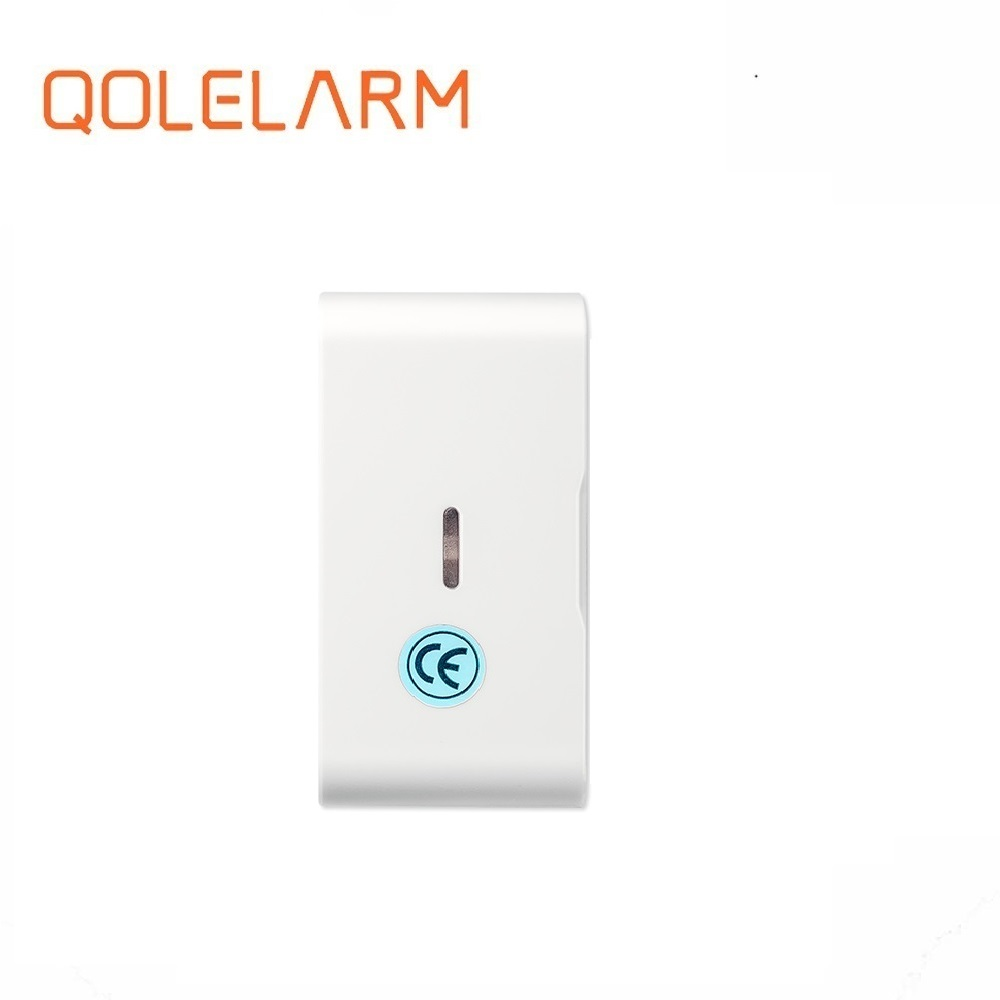 Security Alarm Sensor & Detector Qolelarm Anti Thief 2019 433mhz Home Security Glass Break Wireless Vibration Detector Door Window Alarm Sensor With Sos Button Skilful Manufacture