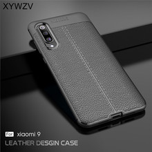 Cover For Xiaomi Mi 9 Case Luxury Armor Rubber Soft Silicone Phone Back Holder Funads