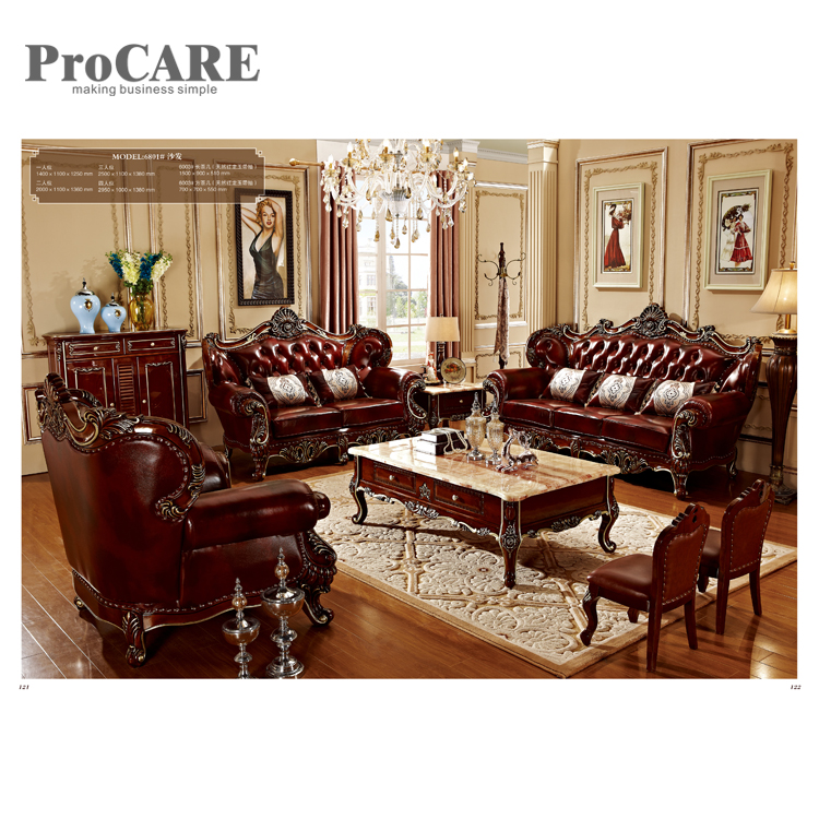 Alibaba modern living room furniture sofa set designs 6801 ...