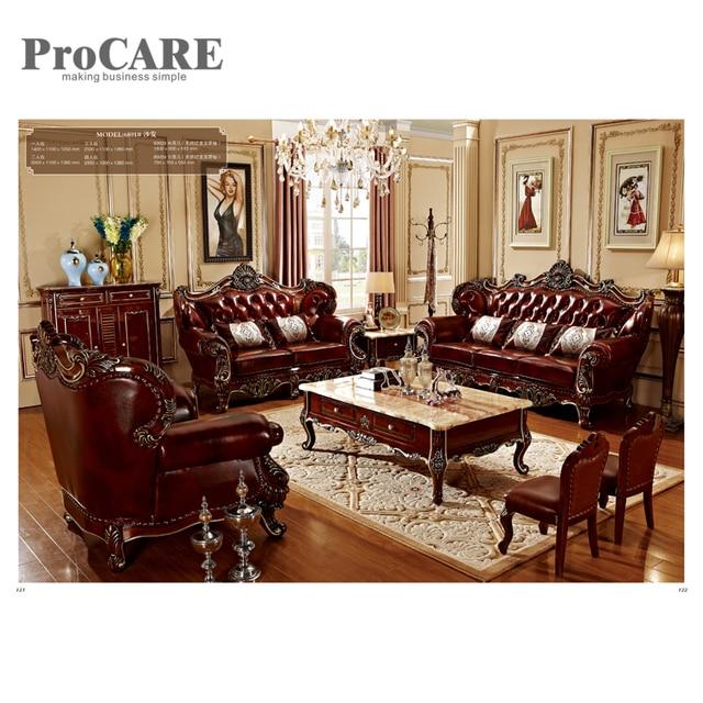 Alibaba moderne salon meubles canapé ensemble conceptions 6801 dans ...