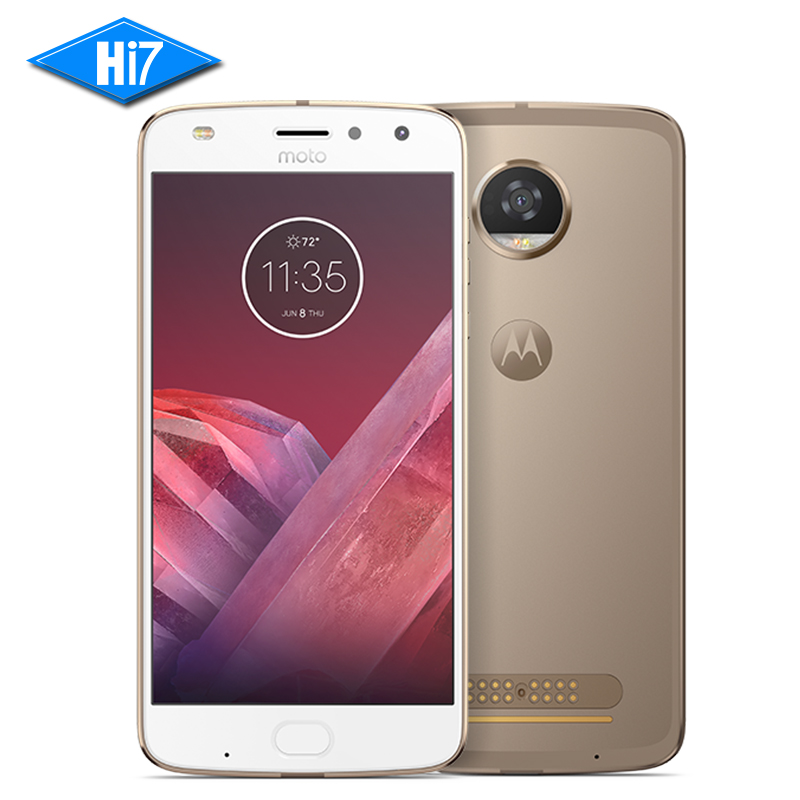 Original novo Motorola MOTO Z2 JOGAR 4 GB RAM 64 GB ROM 4G LTE 5.5 polegada 12MP Octa Núcleo Android 7.1 Dual SIM 1920x1080 Do Telefone Móvel