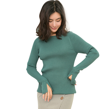 Women Sweaters Cashmere Blend Knitting Pullovers 2018 New Arrival Long Sleeve High Elastic Jumpers Woman Standard Woolen Clothes