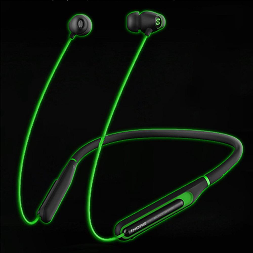 Bluetooth 4 2 Neckband Earphone For Xiaomi Black Shark Led Light Wireless Game Headset Fast Charging Waterproof Earphone Bluetooth Earphones Headphones Aliexpress