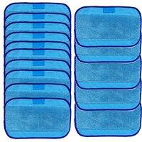 Wet Mikrofaser Wischen Tücher 15 Wet Mop Pads Für iRobot Braava 380 380 t 320 Mint 4200 4205 Vadrouille #-in Reinigungstücher aus Heim und Garten bei