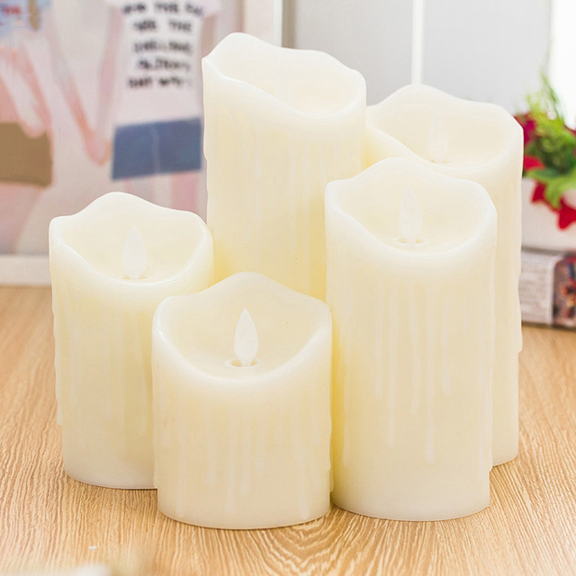 Flameless Tears Candle