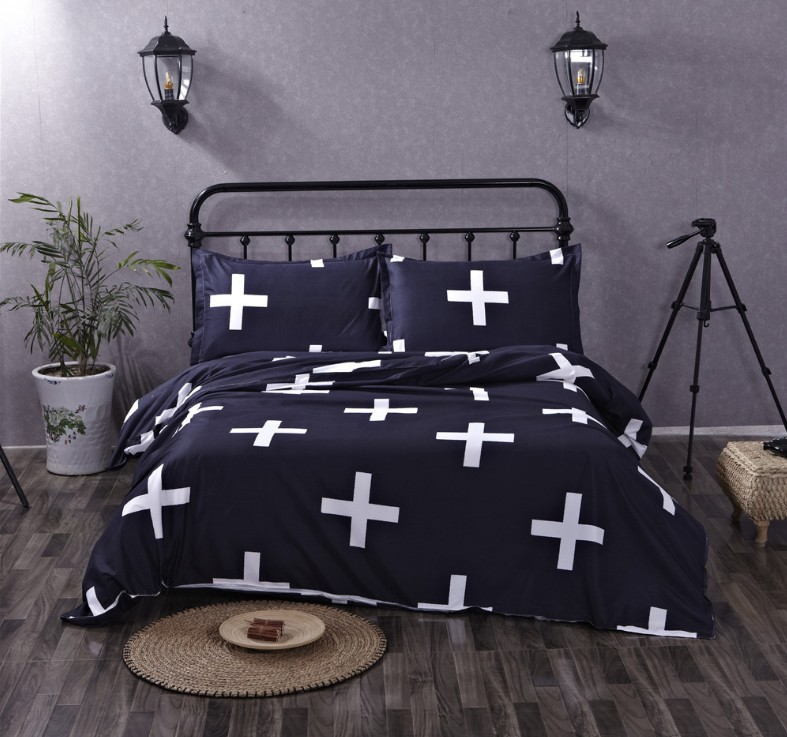 Boho Bohemian Bedding sets Totem Duvet Cover set doona qulit covers bedspread California King Queen size Full double Cross 3PCS