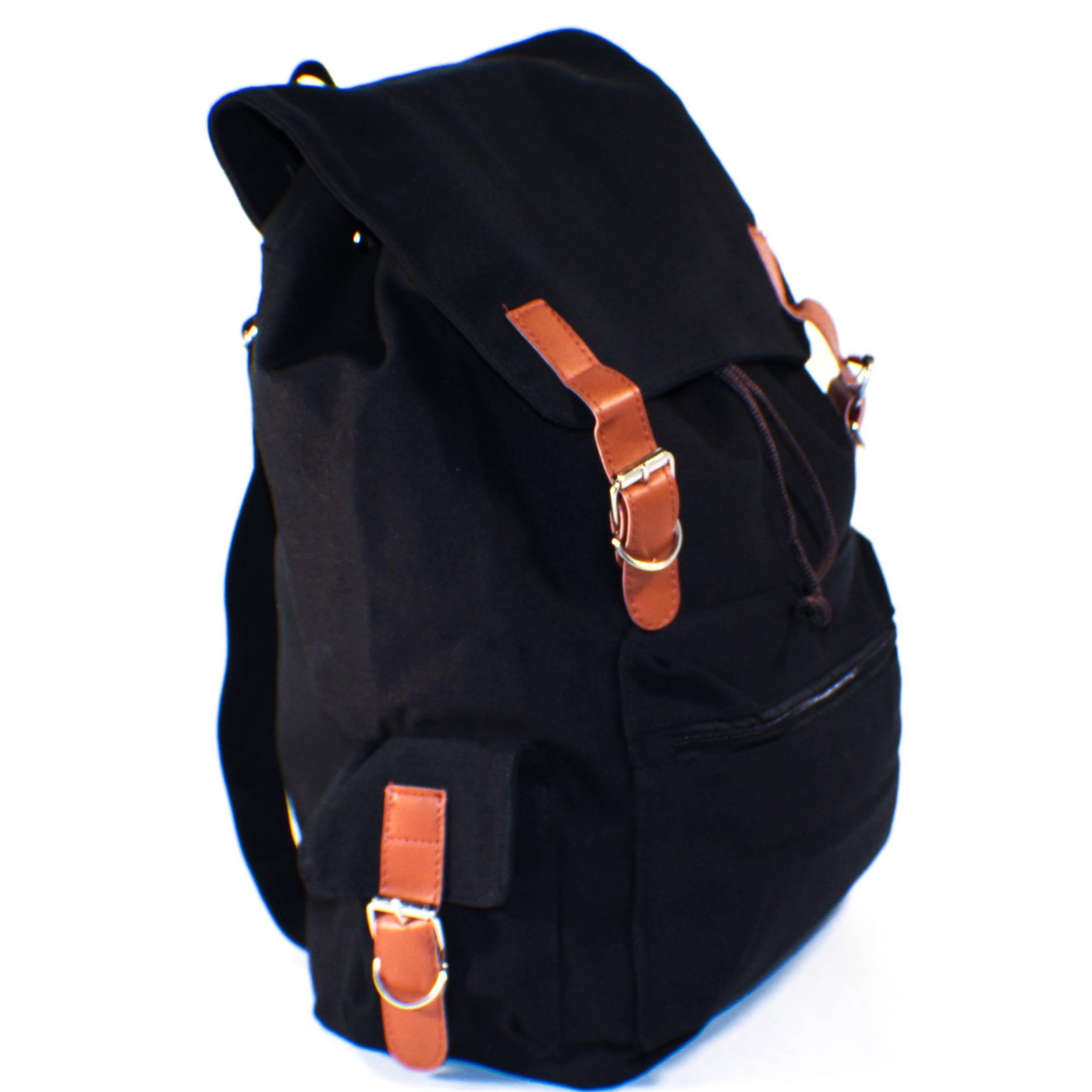 Cute Black Canvas Backpack Fenix Toulouse Handball new styles cf5e4 0a8b9  ... 8d07e5e35af01