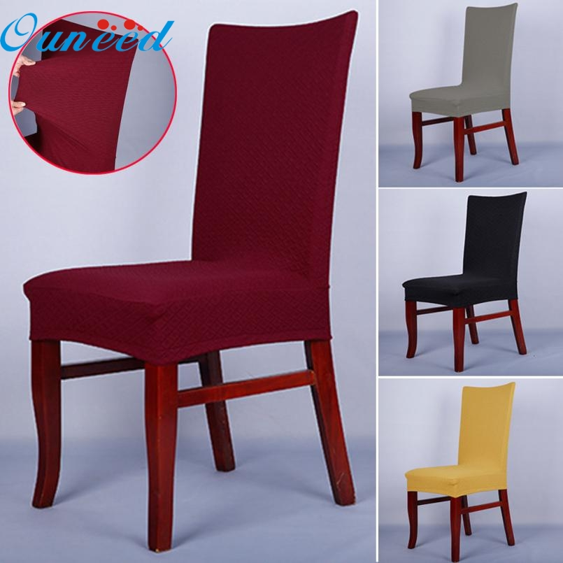 Dining Room Chair Protective Covers: May 16 Mosunx Business 1PC Dining Chair Covers Spandex