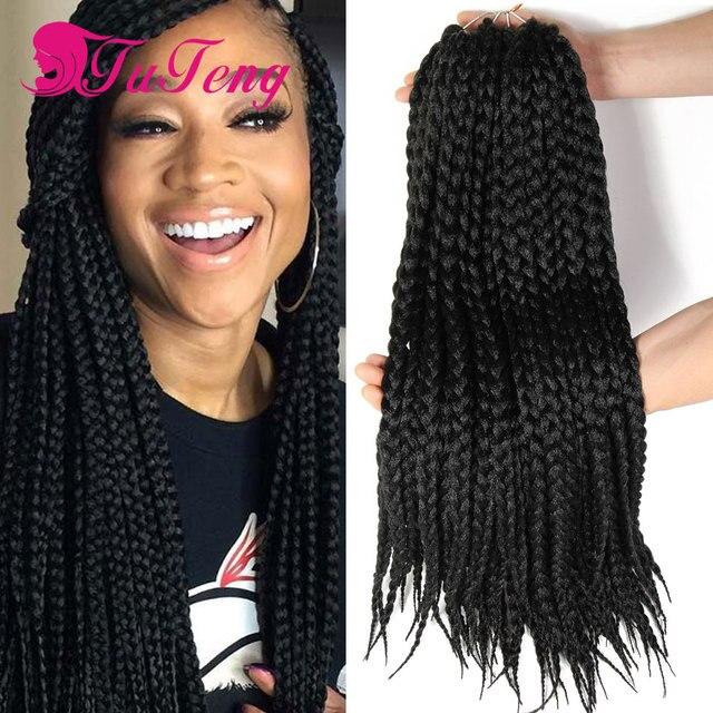Box Braids Hair Synthetic Hair Piece Box Braids Crochet Braids