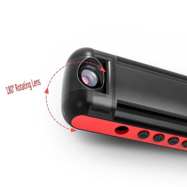 Mini stylo denregistrement pour caméra IDV009 | 1080P Sport DV, caméscope avec objectif à Rotation 180/lecteur MP3, Mini caméra DVR, enregistreur vidéo Audio