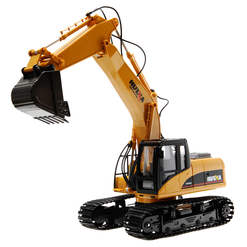 1:50 Engineering Crawler Excavator Truck Toys Alloy Construction Vehicle Model Creative Gifts For Children Boys