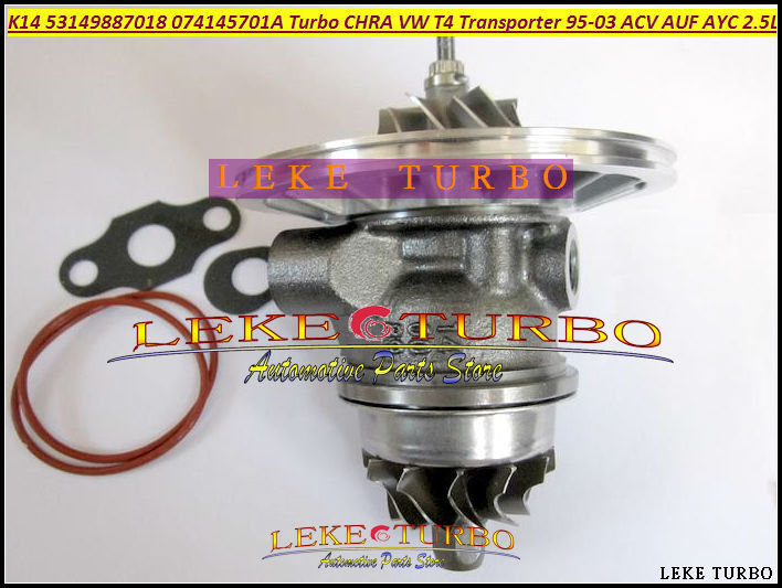 Turbo cartridge CHRA Core K14 53149886000 53149706000 068145701Q 068145703H For Volkswagen VW T3 Transporter TD 1984-92 JX 1.6L