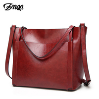 ZMQN Brands Handbags For Womens Vintage Style Oil Wax Leather High Quality Tote Bags China Yiwu Outlet Wholesale Handbags A830
