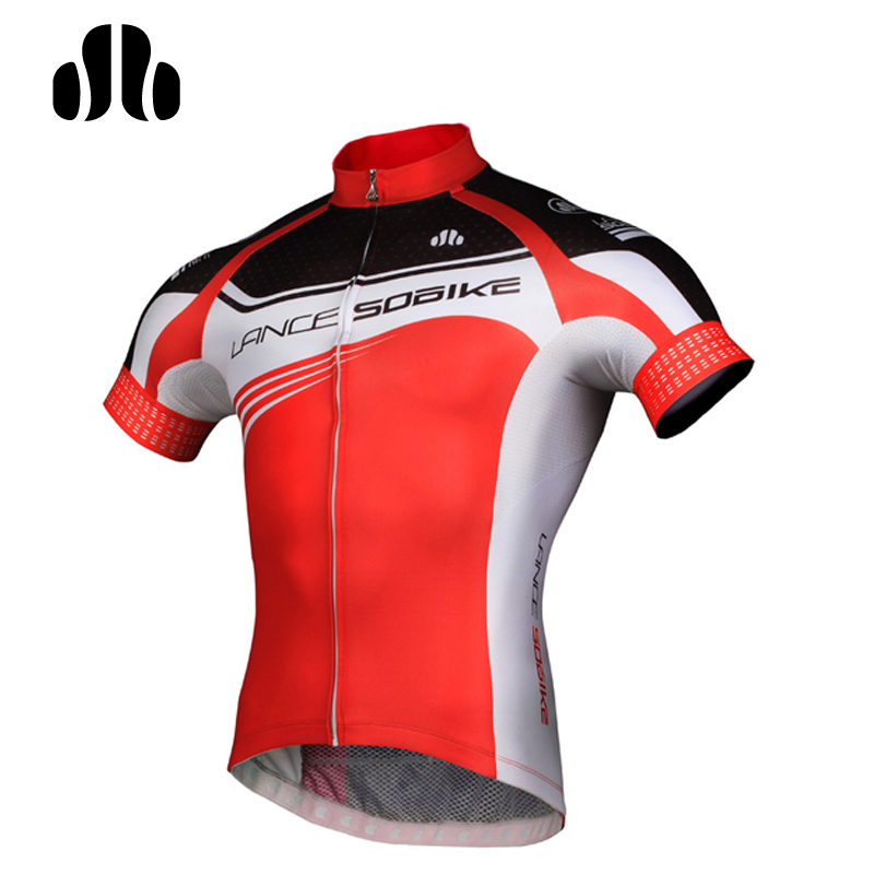 ФОТО Lance Sobike Anti-sweat Professional Racing Cycling Short Jerseys Ropa Breathable Bicycle Clothing Quick-Dry MTB Bike Jerseys