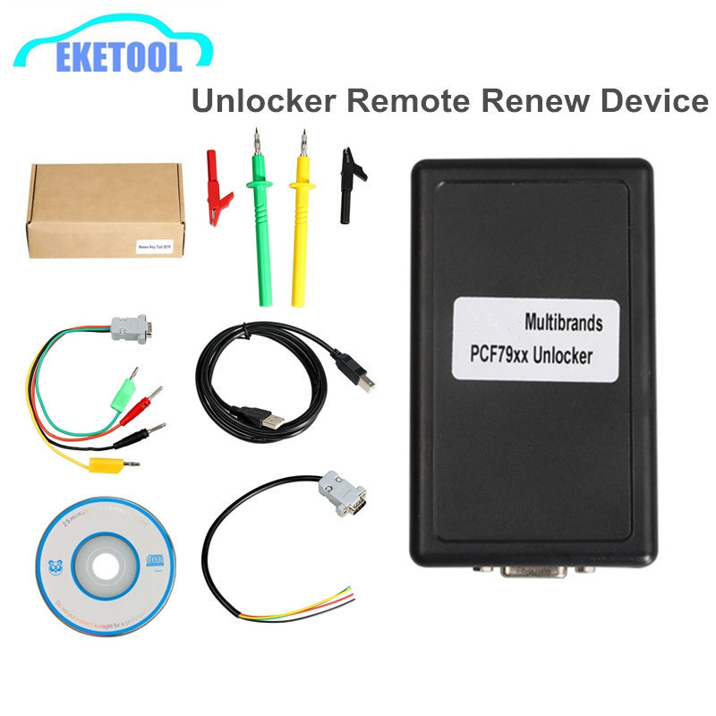 Renewing Used <font><b>Keys</b></font> OBD2 Multibrands PCF79xx Unlocker With Diagrams Works Multi-Brand <font><b>Cars</b></font> <font><b>Remote</b></font> Keyless Best Sale image