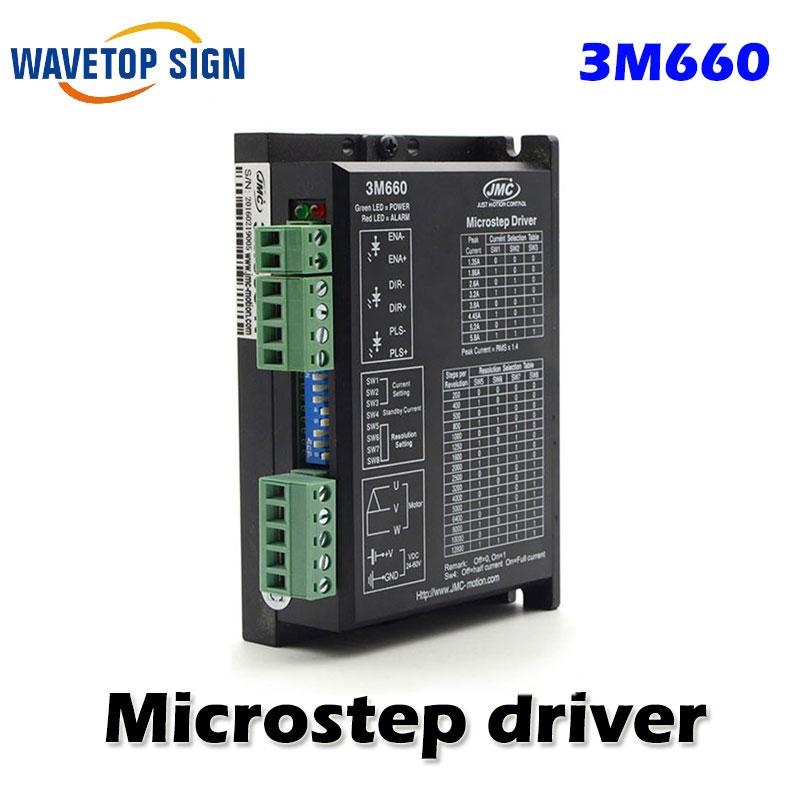 все цены на JMC 3 phase stepper driver 3M660 stepper motor controller use for Laser machine онлайн