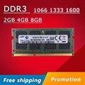 Promoção de MEMÓRIA DDR3 de 4 GB 8 GB 2 GB 1066 1333 1600 1066 mhz 1333 mhz 1600 mhz SODIMM DDR3 4 GB DDR3L Memória Ram Memoria Para Computador Portátil Notebook