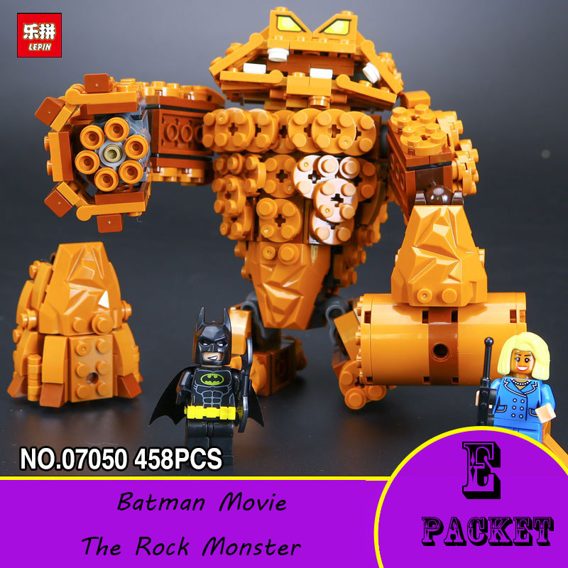 2017 new lepin 07050 batman movie the rock monster for Cost of building blocks in jamaica 2017