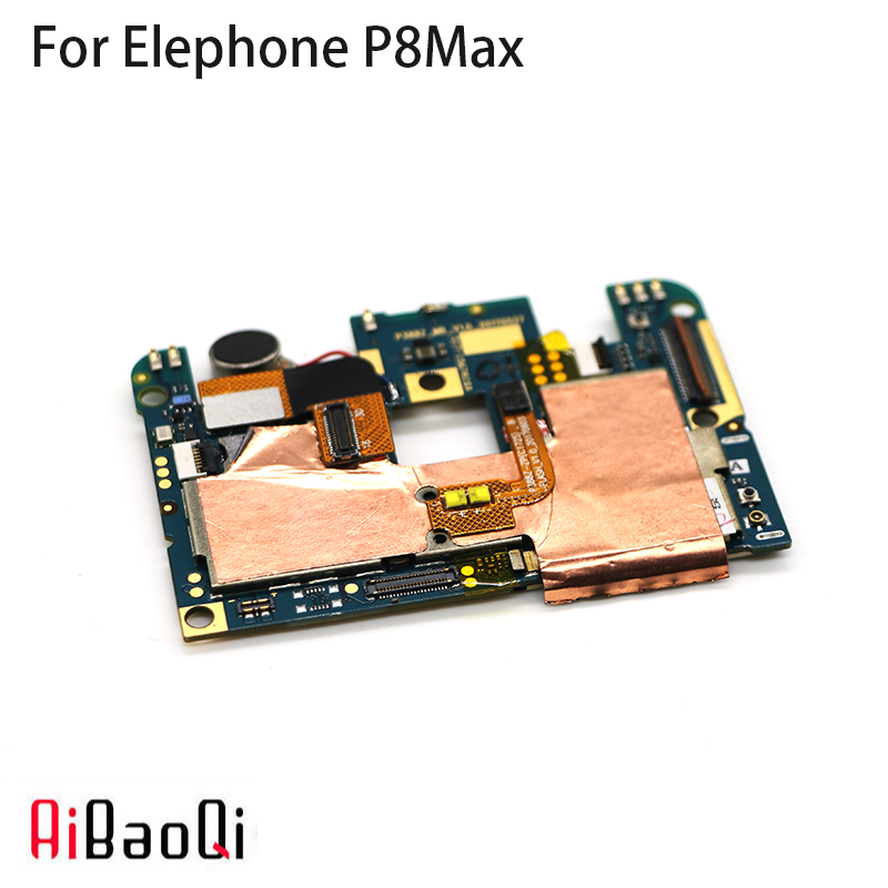 AiBaoQi New Original mainboard 4G 64G ROM Motherboard flex cable board for Elephone P8 Max Phone