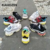 sports women men sneakers running shoes zapatillas hombre deportiva balanciaga homme bona vapormax bambas 2018 New size36 44
