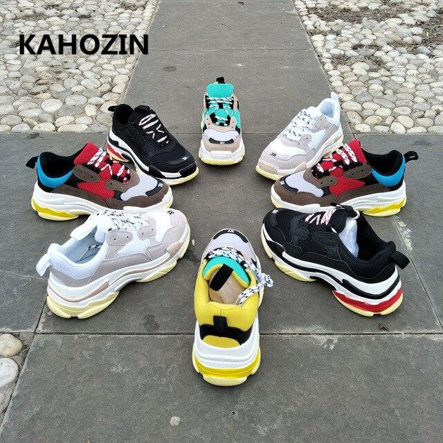 sports women men sneakers running shoes zapatillas hombre deportiva balanciaga  homme bona vapormax bambas 2018 New size36-44 f2d6d8fed79