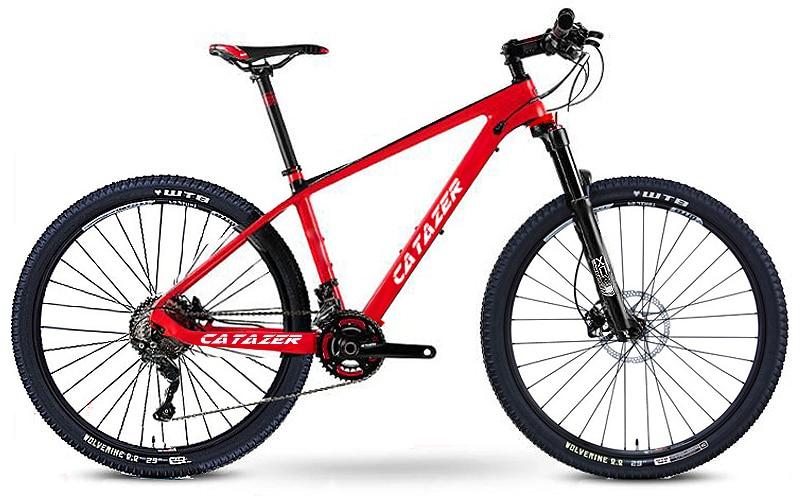 "HTB1PqdZadfvK1RjSspfq6zzXFXaS - CATAZER Carbon Mountain Bike 17""/19""21"" Carbon Fiber Frame Bicycle 26er Wheel 20 Speeds Profession MTB Bicycle Disc Brake Bike"