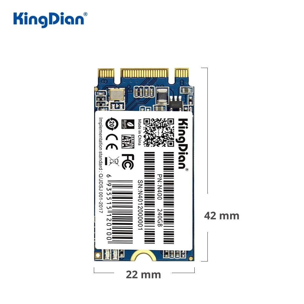 KingDian M.2 SSD 2242 240gb 120gb Hard Drive NGFF SSD M2 SATA 512gb SSD Internal Solid State Drive Disk 32gb 64gb