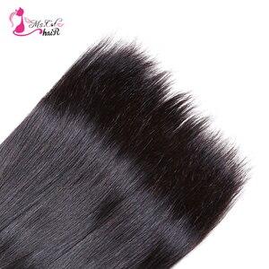 Image 4 - Tissage en lot brésilien naturel Remy lisse Ms Cat, 8 à 28 pouces, lot de 3 tissage en lot, Double trame, 100% cheveux humains